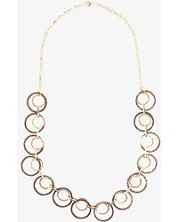 Phase Eight - Sia Mixed Metal Ring Necklaces - Lyst