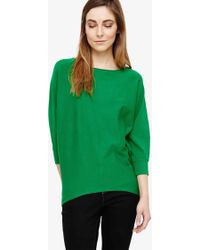 3ffe2caedcc Becca Smart Batwing Jumper - Green