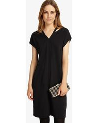 Phase Eight - Dani Double V Neck Dress - Lyst