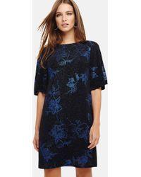 Phase Eight - Flynn Floral Jacquard Dress - Lyst