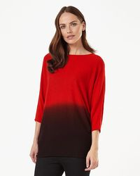 Phase Eight - Becca Dip Dye Batwing Jumper - Lyst