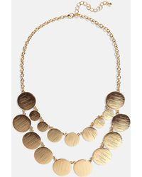 Phase Eight Blair Necklace - Metallic