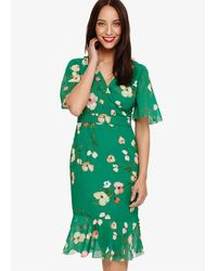 Phase Eight Hailey Floral Dress - Green