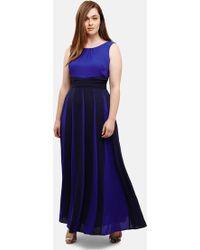 Studio 8 Bo Maxi Bridesmaid Dress - Blue
