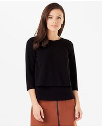 Phase Eight - Ottoman Double Layer Top - Lyst