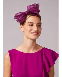 Phase Eight Zalinda Bow Headband - Purple
