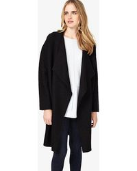 Phase Eight - Abelie Cocoon Knitted Coat - Lyst