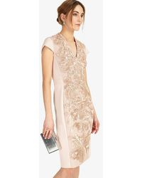 Phase Eight - Laurie Embroidered Dress - Lyst