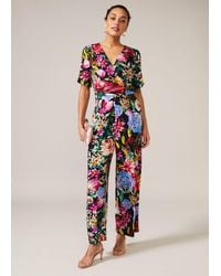 Phase Eight Ambree Rose Bloom Floral Jumpsuit - Multicolour