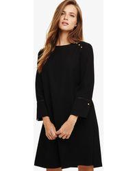 Phase Eight - Chelsie Button Shoulder Dress - Lyst