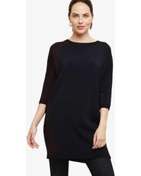 Phase Eight Mariyah Contrast Knitted Tunic - Blue