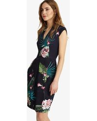 Phase Eight - Mila Printed Dress - Lyst