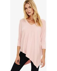 Phase Eight - Ally Asymmetric Knitted Jumper - Lyst