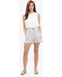 Phase Eight - Imie Stripe Shorts - Lyst