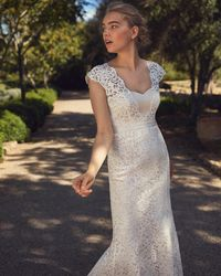 Phase Eight - Maegen Lace Wedding Dress - Lyst