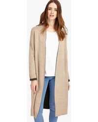 Phase Eight - Gianina Knitted Coat - Lyst