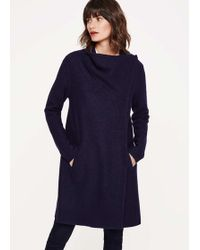Phase Eight - Bellona Level Hem Knit Coat - Lyst