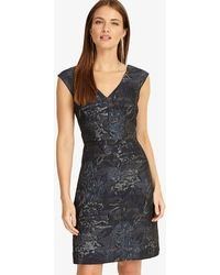 Phase Eight - Honour Jacquard Dress - Lyst