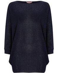 Phase Eight - Shimmer Becca Batwing Knit Jumper - Lyst
