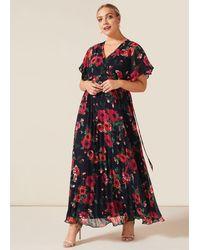 Studio 8 Lydia Floral Maxi Dress - Blue
