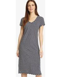 Phase Eight - Chantelle Chevron Beach Dress - Lyst