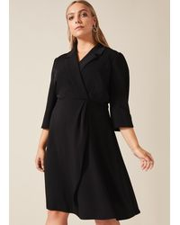 Studio 8 Penny Tuxedo Dress - Black