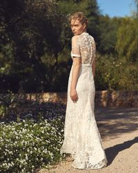 Phase Eight - Poppy Embroidered Bridal Dress - Lyst