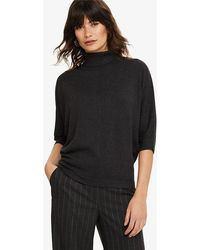Phase Eight - Becca Smart Roll Neck Knitted Jumper - Lyst