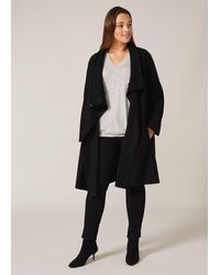 Studio 8 Bellona Knit Coat - Black