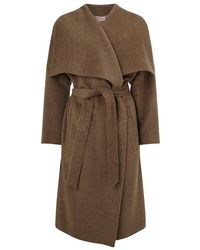 Phase Eight - Bruna Belted Coat - Lyst
