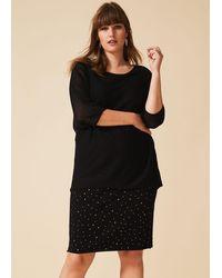 Studio 8 Ramona Stud Dress - Black