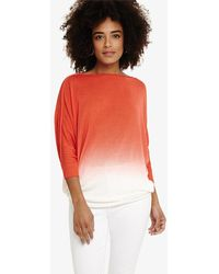 Phase Eight - Becca Dip Dye Knit Top - Lyst