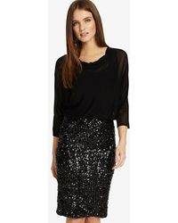 Phase Eight - Adele Sequin Dress - Lyst