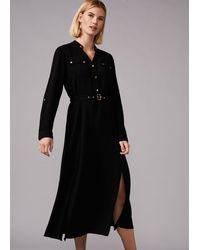 Phase Eight Juliette Stud Dress - Black