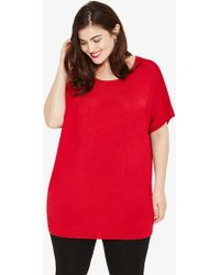 Studio 8 Kate Knit Tunic - Red