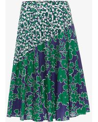 Phase Eight - Eloise Floral Printed Skirt - Lyst