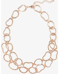 Phase Eight - Valeria Organic Ring 2 Row Necklace - Lyst