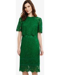 Phase Eight | Alisha Double Layer Lace Dress | Lyst
