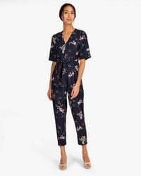 Phase Eight - Asami Lace Top Jumpsuit - Lyst