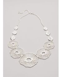Phase Eight - Fifi Flower Necklace - Lyst