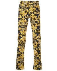 Versace Jeans Couture Baroque Jeans - Black