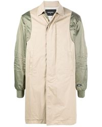 DSquared² Commander Trench Coat - Natural