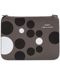 Comme des Garçons Cote&ciel X Cdg Polka Dot Ipad Case - Grey
