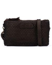Pikolinos Leather Shoulder Bag Gabarda Wha - Black