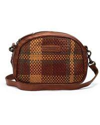 Pikolinos Leather Shoulder Bag Meleja Wha - Brown