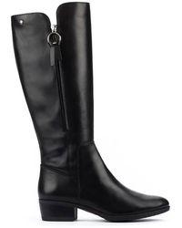 Pikolinos Daroca Knee High Boot - Black