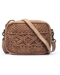 Pikolinos Leather Shoulder Bag Almenara Wha - Natural