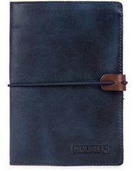 Pikolinos Funda Pasaporte - Blue