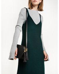 Pixie Market - Embossed Boxy Shoulder Bag - Lyst