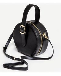 Pixie Market - Black Circle Mini Bag - Lyst